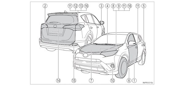 2017 Toyota RAV4 Owners Manual