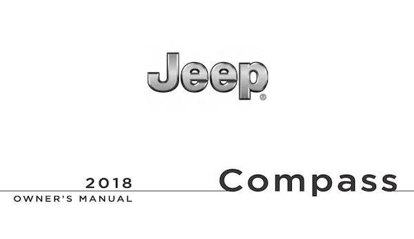 2018 Jeep Compass Owners Manual