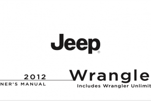 2012 Jeep Wrangler Owners Manual