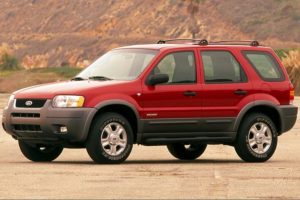 2001 Ford Escape Owners Manual