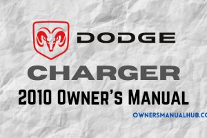 2010 Dodge Charger Owners Manual