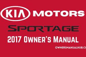 2017 Kia Sportage Owners Manual