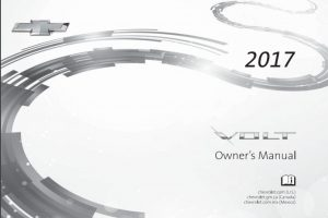 2017 Chevy Volt Owners Manual