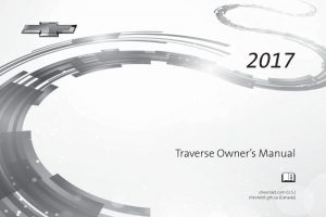 2017 Chevy Traverse Owners Manual