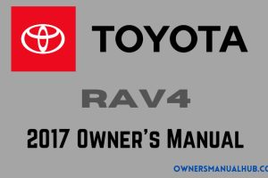 2017 Toyota Camry Owners Manual