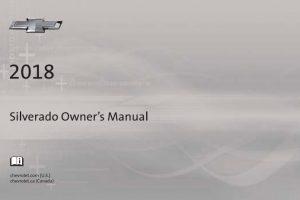 2018 Chevrolet Silverado Owners Manual