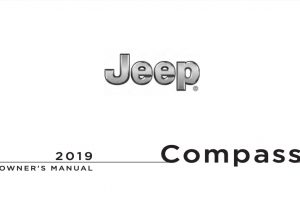 2019 Jeep Compass Owners Manual