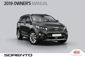2019 Kia Sorento Owners Manual