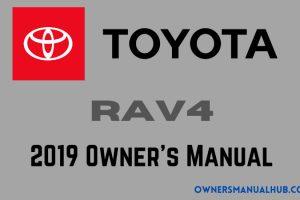 2019 Toyota RAV4 Owners Manual