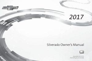 2017 Chevy Silverado Owners Manual