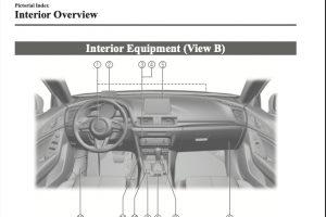2018 Mazda 3 Owners Manual