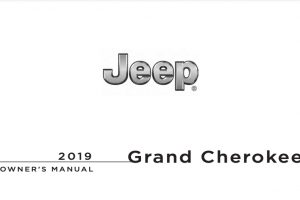 2019 Jeep Grand Cherokee Owners Manual
