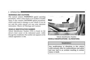 2007 Chrysler Sebring Owners Manual
