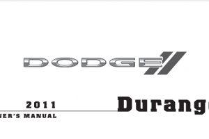 2011 Dodge Durango Owners Manual
