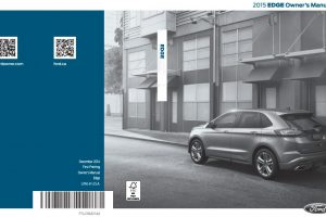 2015 Ford Edge Owners Manual