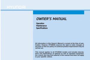 2020 Hyundai Elantra Owners Manual