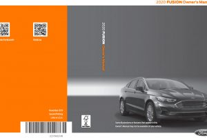 2022 Ford Fusion Owners Manual