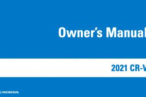 2022 Honda CR-V Owners Manual